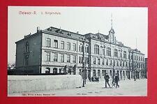 AK MEISSEN um 1907 II. Bürgerschule und Typen mit Fahrrad   ( 29299
