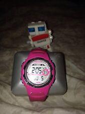 pink marathon watch