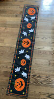 Halloween Thanksgiving Table Runner Double-sided 68 X 13