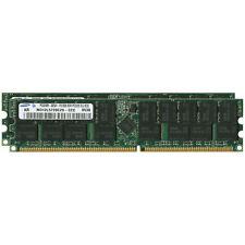 4GB (2x2GB) Sun Fire PC3200 DDR400 ECC Server DIMM X8121A-Z, 371-1097