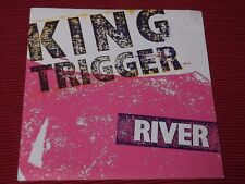 "King Trigger:  River  7""   EX+  POSTER SLEEVE"