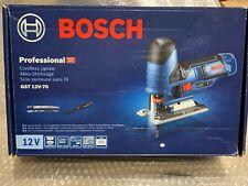 Bosch GST 12V-70 12v Professional Jigsaw 1 x 2.5Ah L-Boxx Ready