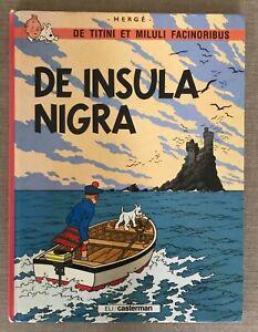 De Titini et Miluli facinoribus, Tome 1 De insula nigra Par Hergé