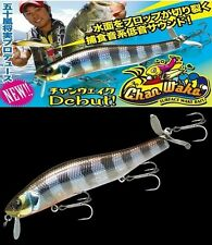 JACKALL Chan Wake 130 Floating Lure Uroko HL Chart Back BG (6005)
