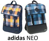 Adidas NEO CS NTR BP Rucksack Backpack Bag Mens Boys Girls Blue School Fashion