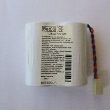 Batterie Lithium BATSECUR BAT06 - Remplacement alarmes Daitem et Logisty BATLi06