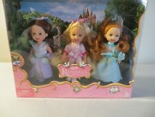 Barbie friends of Kelly  Rapunzel's Wedding Flower girls 3 doll set
