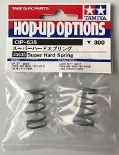 Tamiya 53635 TRF Super Hard Spring (TRF415/TB Evo III/TA04) NIP