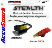 Stealth Electronic ignition, Rover P6 V8 for Lucas 35D8 Distributor+Red Rotor