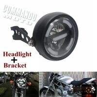 Motorcycle Headlight Head Lamp w/ Bracket For Honda CB400 CB500 CB600 CB1300 CB
