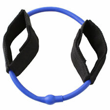Ankle Cuff Resistance Tube, Heavy Resistance 10.5 lbs - 11.5 lbs, Blue