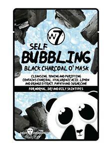 W7 COSMETICS Self-Bubbling Black Charcoal O2 Face Mask