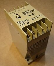 Omron DIN-Mount Power Supply S82K-2712 Input 200-240VAC Output 12VDC .6A