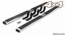 For Nissan Navara D40 2005 - 2015 Side Steps Running Boards Set