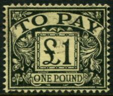 GREAT BRITAIN - 1963 £1 'BLACK (YELLOW)' FU SGD68 Cv £9 [B4549]