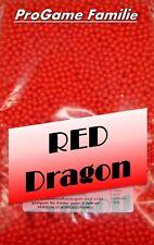 """1kg Softairkugeln """"Red Dragon"""" (rot) von Pro Game ca. 8333 Stück (0,12 Gramm)"""