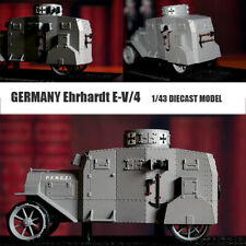 GERMANY Ehrhardt LIMITED E-V/4 1/43 DIECAST MODEL FINISHED TANK  VERY RARE