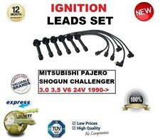FOR MITSUBISHI PAJERO SHOGUN CHALLENGER 3.0 3.5 V6 24V 1990-> IGNITION LEADS SET