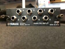 Yamaha MY8-AD Analog Input Card - 16 02R96 01V96 LS9 DM1000 DM2000 - MY 8 AD