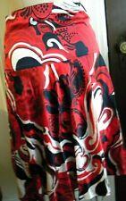 TOMMY HILFIGER SILK Floral Print A-Line Flare Skirt - Size 4 (on Label)