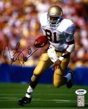 TIM BROWN AUTOGRAPHED SIGNED 8X10 PHOTO NOTRE DAME FIGHTING IRISH PSA/DNA 75245
