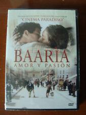 BAARIA Amor y pasion Region code1&4 Audio in Spanish TORNATORE Scianna