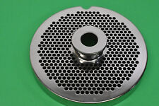 """New #56 x 3/16"""" holes Stainless Meat Grinder disc plate for Biro 1056 1556 Ss"""