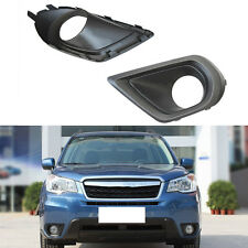 For Subaru Forester 2013-2015 Front Bumper Fog Lamp Cover Trims ABS