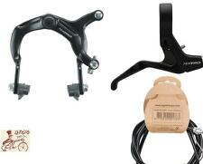 TEKTRO 984--319AC--CABLE FRONT CALIPER BMX BLACK BICYCLE BRAKE KIT