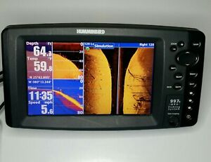 Hummingbird 997c SI GPS Fishing System side imaging Head Unit
