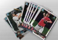 2018 Bowman Chrome Baseball Prospect cards #1-150 U pick 1st Bowmans HOT!