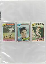 1980 TOPPS BASEBALL PICK-15 TO COMPLETE YOUR SET OR TEAM SET      NEAR-MINT