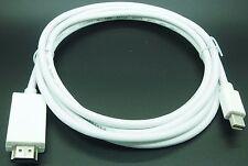 miniDP (thunderbolt) 1.2a to HDMI 1.4b cable 1.83M (6 feet) 4Kx2K AC3 DTS
