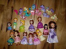 "Sofia the First Disney Mini Figurines/Princesses Mattel 3"" Figures & Palace Pets"