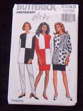 Butterick 6283 Misses' Top, Skirt & Pants Size XS, S, M, L ,XL - New - uncut