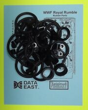 1994 Data East WWF Royal Rumble pinball rubber ring kit