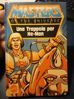 Masters of the Universe Motu Minicomics Minibook - Una trappola per He Man 1985