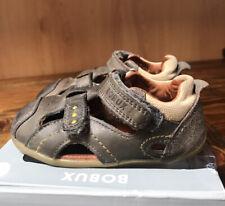 Bobux (step Up )smoke Grey Sandals 'Chase' Size 21