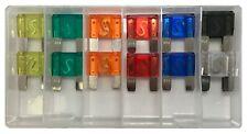 14 Piece Large 32 Volt Maxi Blade Fuse Assortment Box Kit - 20A to 80 AMP