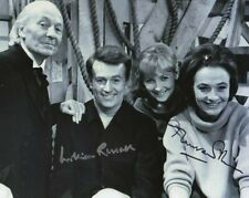 More details for doctor who autograph: william russell & maureen o'brien signed photo