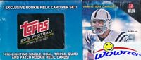 2015 Topps Football EXCLUSIVE HUGE 506 Card RC RELIC Factory Set-5 RC VARIATIONS