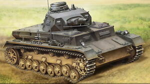Hobbyboss 80131-1 :3 5 Alemán Tanque de Guerra IV Modelo B- Nuevo