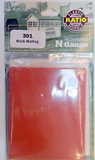 New Ratio Brick Walling 301 N Gauge