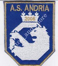 [Patch] SCUDETTO AS ANDRIA CALCIO stemma cm 8 x 10,5 toppa ricamo REPLICA -1021