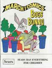 MARCH OF COMICS 452 BUGS BUNNY 1979 RARE GIVEAWAY PROMO VF PROMOTIONAL