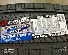 4 New P 245 75 16 Yokohama Geolandar H/T G056 Tires
