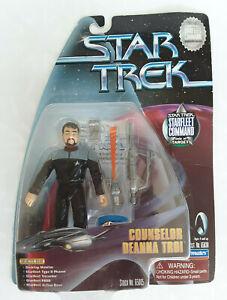 Star Trek Commander Riker / Counselor Troy Figurine Card Misprint