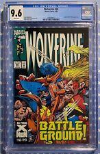 WOLVERINE #68 (1993) CGC 9.6 NM+ EPSILON RED AND X-MEN STORY MARVEL COMICS WP