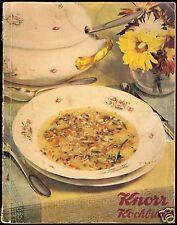 Knorr Kochbuch, um 1938