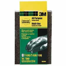 3M Small Area Sanding Sponge, Medium/Coarse, 3.75-Inch by 2.625-In
